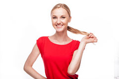 Beautiful girl smiling Stock Photography