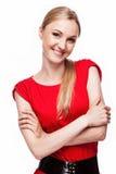 Beautiful girl smiling Stock Photo