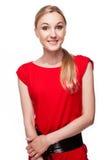 Beautiful girl smiling Royalty Free Stock Photos