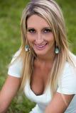 A beautiful girl smiling Stock Photo
