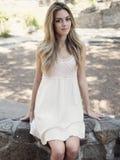 Beautiful, Girl, Smiling, Da, Young Stock Photography