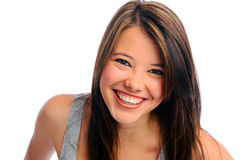 Beautiful girl in studio Royalty Free Stock Images