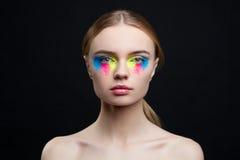 Beautiful girl studio portrait Royalty Free Stock Photo