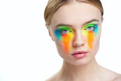 Beautiful girl studio portrait Stock Photo