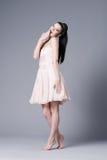 Beautiful girl in studio posing Royalty Free Stock Photo