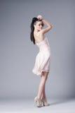 Beautiful girl in studio posing Royalty Free Stock Images