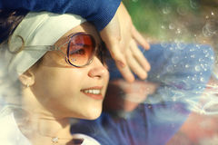 Beautiful girl in summer day Royalty Free Stock Images