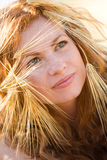 Beautiful girl summer portrait Royalty Free Stock Images