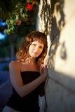 Beautiful girl in the sun Royalty Free Stock Photography