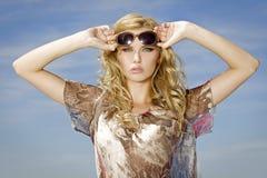 Beautiful girl in sunglasses Stock Image