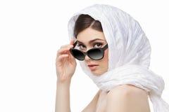 Beautiful girl in sunglasses Royalty Free Stock Image