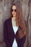 Beautiful girl in sunglasses Stock Photo