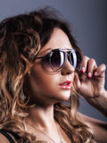 Beautiful girl in sunglasses Royalty Free Stock Image