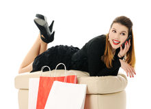After shopping Stock Photography