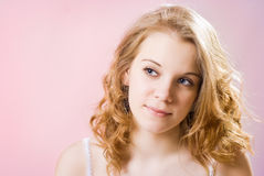 Beautiful girl Teen Stock Photo