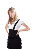 Beautiful girl teenager Stock Image