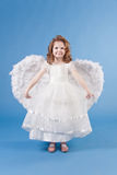 Beautiful girl in white dress Royalty Free Stock Image