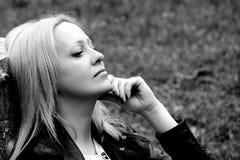 Beautiful girl or woman. photo. Royalty Free Stock Photo