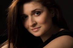 Beautiful girl. Young girl with beautiful eyes stock photos
