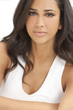 Beautiful Girl Young Hispanic Woman stock photos
