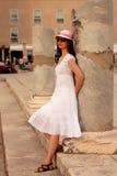 Beautiful girl in Zadar Royalty Free Stock Photo