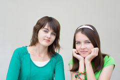 Beautiful girls Royalty Free Stock Photography