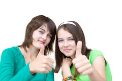 Beautiful girls Royalty Free Stock Photo