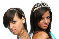 Beautiful girls royalty free stock image