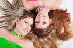 Beautiful girls Stock Photo