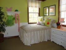 Beautiful Girls Bedroom Stock Image