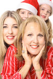 Beautiful girls generations Stock Photo