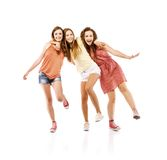 Beautiful girls Stock Photography