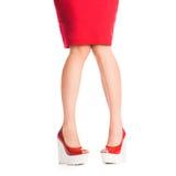Beautiful girls legs Royalty Free Stock Photos
