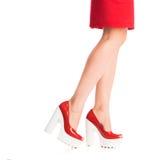 Beautiful girls legs Stock Image
