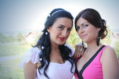 Beautiful girls Stock Images