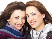 Beautiful girls smiling Stock Photos
