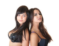 Beautiful girls Stock Image