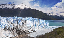Beautiful glacier. Stock Photo