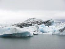 Beautiful glacier lagoon, Jokulsarlon, Iceland Stock Image