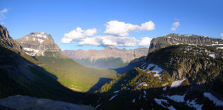 Beautiful Glacier national park Stock Image