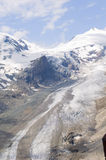 Beautiful glacier Pasterze. Austrian Alps Stock Photography