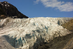 A beautiful glacier at valdez Stock Photography