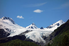 A beautiful glacier at valdez Stock Images