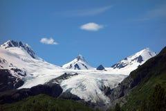 A beautiful glacier at valdez Stock Images