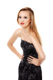 Beautiful glamour blond woman Royalty Free Stock Images
