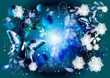 Beautiful glamour vector background Royalty Free Stock Photography