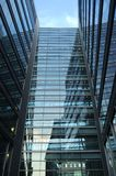 Beautiful glass building Royalty Free Stock Photos