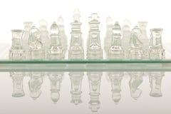 Beautiful glass chess Royalty Free Stock Photo