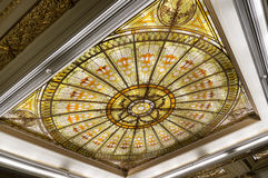 Beautiful glass roof Royalty Free Stock Photo