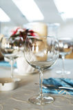 Beautiful glass for wine Royalty Free Stock Photos